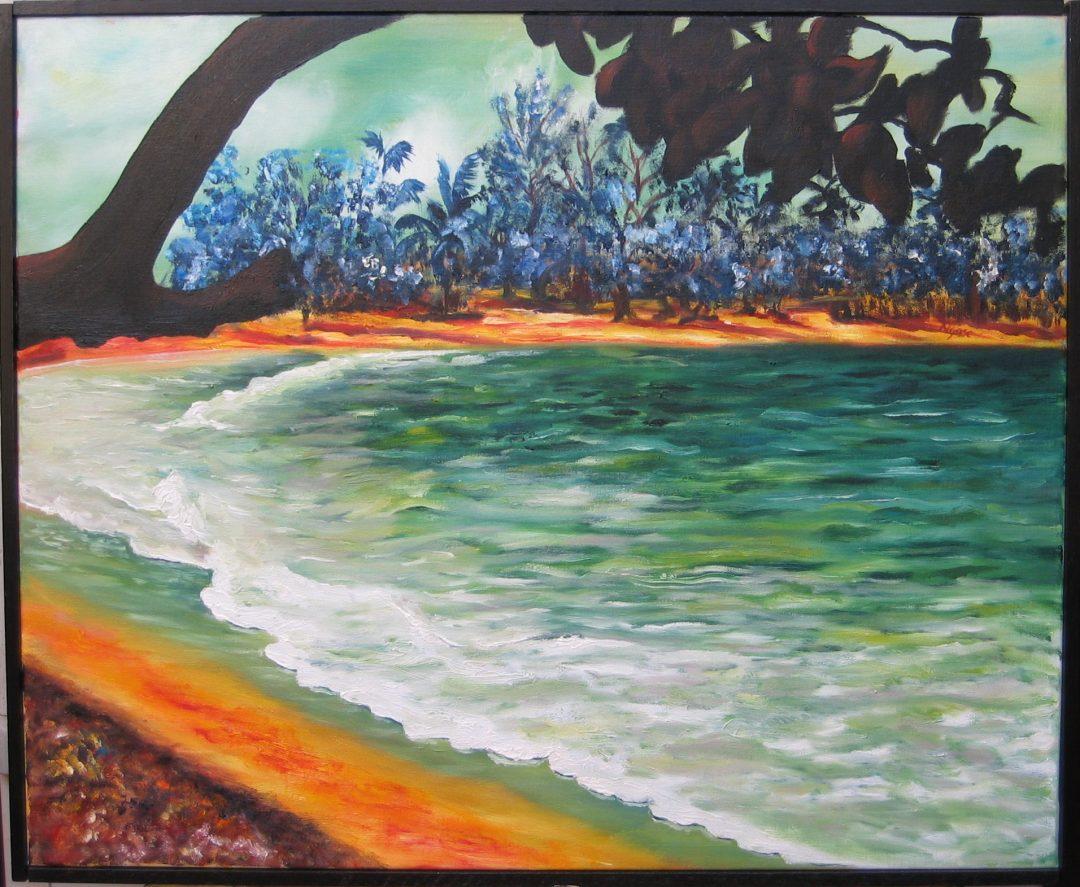 Playa Oriente SERIE OLVIDADOS 73×60